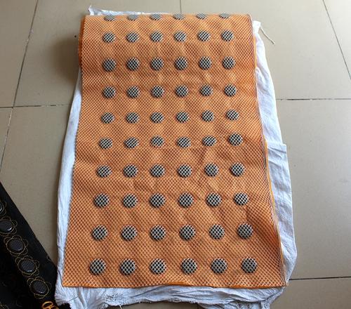 6排黄网锗石靠背